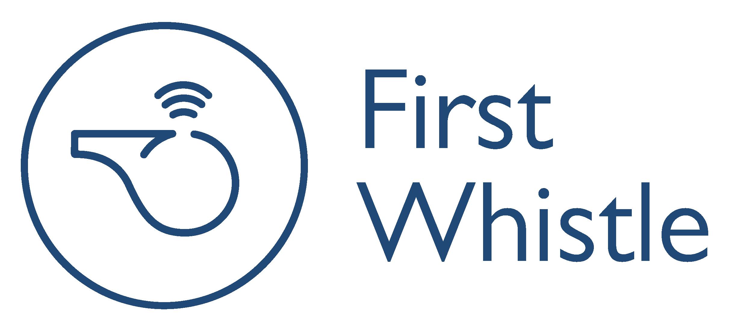 Juuriharja-FirstWhistle-logo-2-sininen